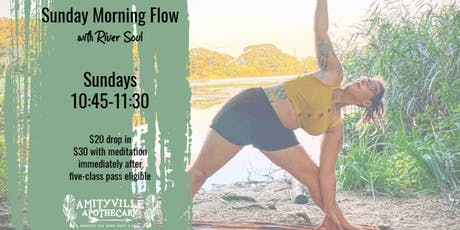 Sunday Morning Yoga with River Soul tickets
