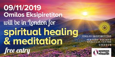 Spiritual Healing, Open Discussion & Healing Meditation