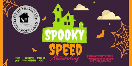 Spooky Speed Networking with Realtist of Fresno County