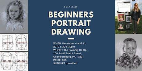 Beginners Portrait Drawing tickets
