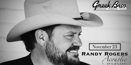 Randy Rogers Acoustic