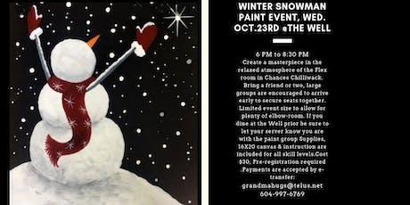 Solstice Snowman tickets