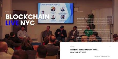 Blockchain Live NYC tickets