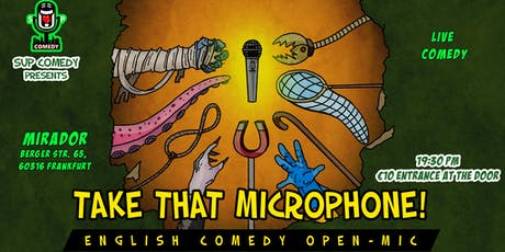 That Microphone! English Comedy Show Tickets