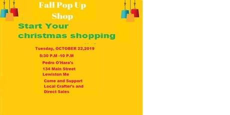 Fall Pop-Up Shop Craft & Vendor Fair tickets