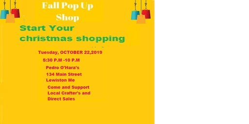 Fall Pop-Up Shop Craft & Vendor Fair