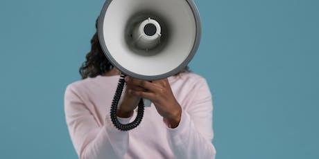 Her Bold Voice Speaks: Public Speaking Series (Daytime Session) tickets