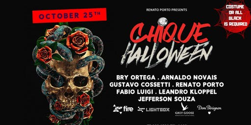 CHIQUE HALLOWEEN 2019 - GET READY TO THE MADNESS