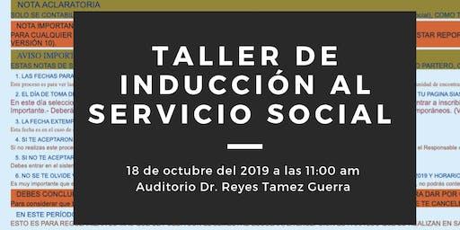 Taller de Inducción al Servicio Social E-J 20