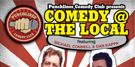 Comedy @ The Local - Friday 25 October, 2019 tickets