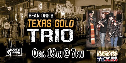 Round Top Live with Sean Orr's Texas Gold Trio