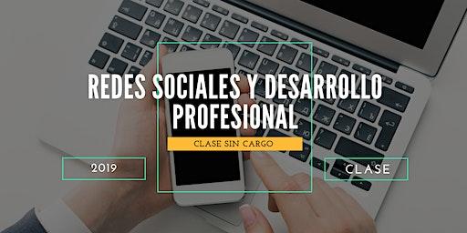 Charla Gratis: Redes Sociales y Desarrollo Profesional Online.