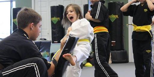FREE Beginners Karate Workshop for KIDS 5-12yrs.