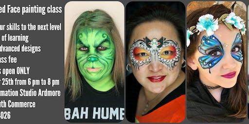 Advanced Face painting class/ Fantasy makeup