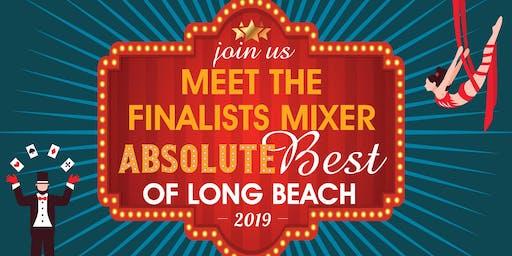 Meet the Finalists Networking Mixer