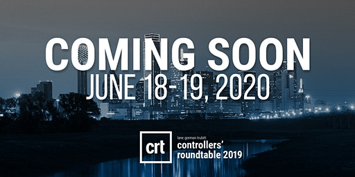 Controllers' Roundtable 2020: Dallas