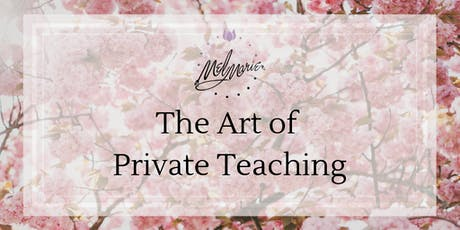The Art of Private Teaching tickets