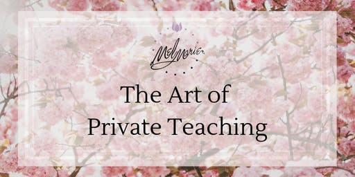 The Art of Private Teaching