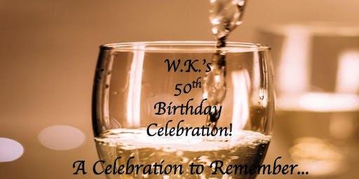 W.K.'s 50th Birthday Celebration!