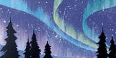 Northern Lights-Paint with Kate