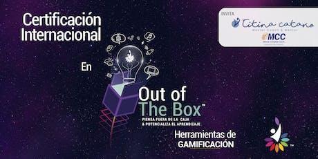 Certificación Out Of The Box Herramientas de Gamificación entradas