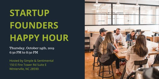 Startup Founders Happy Hour