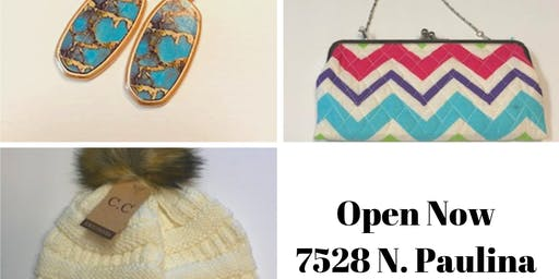 TURQUOISE BOUTIQUE OPEN NOW