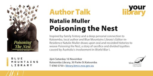 Author Talk - Natalie Muller: Poisoning the Nest