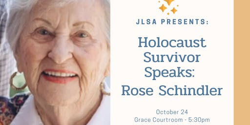 Holocaust Survivor Speaks: Rose Schindler