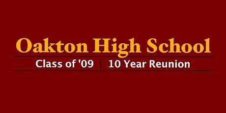 Oakton High School Class of '09 - 10-Year Reunion tickets
