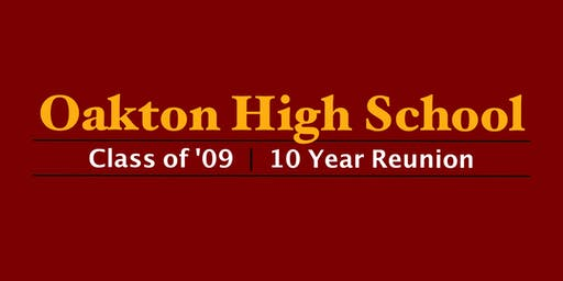 Oakton High School Class of '09 - 10-Year Reunion