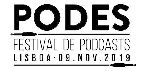 Festival Podes: Perguntar Não Ofende Live Show bilhetes
