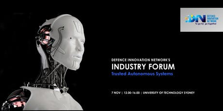 DIN Industry Forum: Trusted Autonomous Systems tickets
