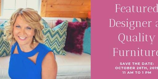 Reveal: Clarissa Smith Featured Designer at Quality Furniture!