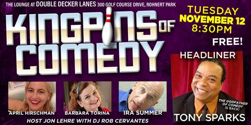 Kingpins of Comedy • November 12