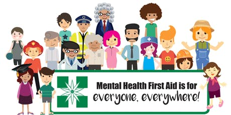 Standard Mental Health First Aid - Two day training tickets