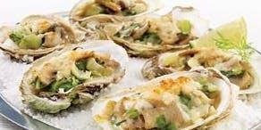 Show Culinaire par l'Escouade culinaire - Des huîtres