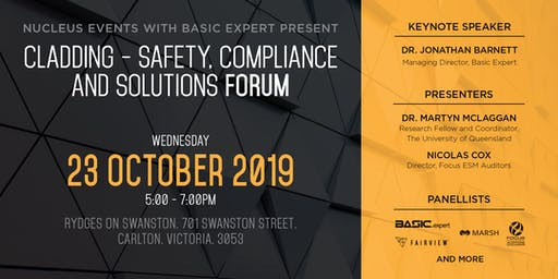 Cladding – Safety, Compliance and Solutions Forum (2 CPD Points)