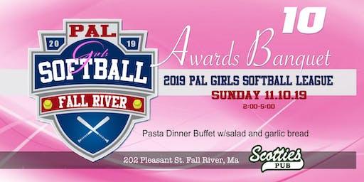 2019 Fall River PAL Girls Softball Awards Banquet