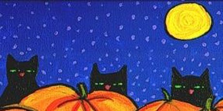 Kids' Paint Day — Black Cats in the Pumpkin Patch tickets