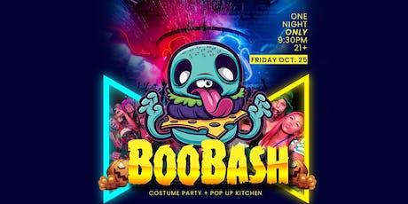 BooBash - Halloween Costume Party + Modern Kitchen Pop Up tickets