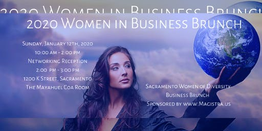 2020 Women in Business Brunch - Sacramento!