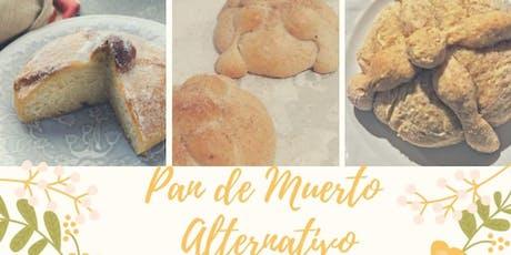 Pan de Muerto Alternativo con el Chef Marcos Valadez en Anna Ruíz Store entradas