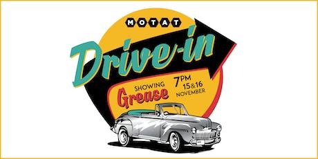 MOTAT Drive In tickets