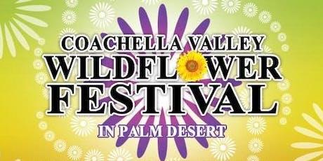 The Coachella Valley Wildflower Festival tickets