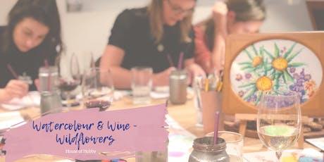 Watercolour & Wine - Wildflowers tickets