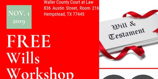 Free Wills Workshop