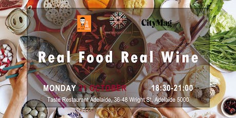 Real Food Real Wine  tickets