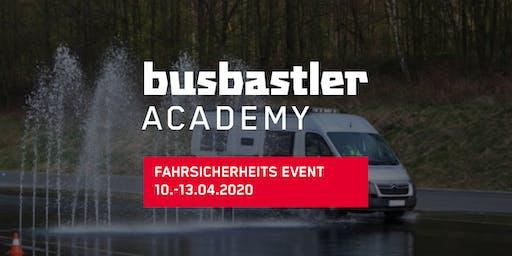 Busbastler Academy - Fahrsicherheitsevent