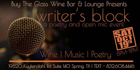 Poetry, Live Music & Wine  tickets